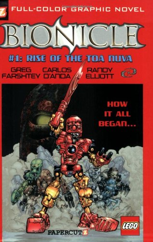 Bionicle 1: Rise of the Toa Nuva: No. 1