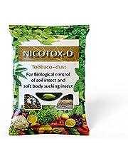 مسحوق غبار التبغ من DIVINE TREE Nicotox-D مبيدات الحشرات الطبيعية للنباتات ذات الأصيص وأعشاب العشب العشبي (900 جرامًا) للزراعة  استخدام البستنة فقط