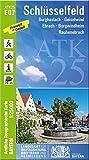 ATK25-E07 Schlüsselfeld (Amtliche Topographische Karte 1:25000): Burghaslach, Geiselwind, Ebrach, Burgwindheim, Rauhenebrach (ATK25 Amtliche Topographische Karte 1:25000 Bayern)