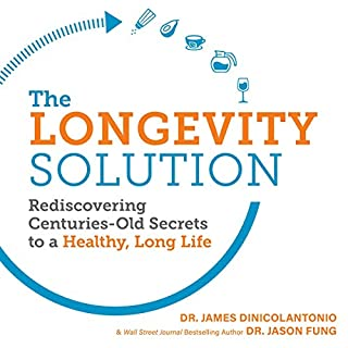The Longevity Solution audiobook cover art