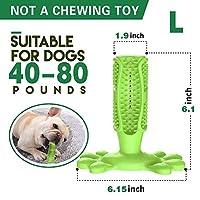 ドロップシッピング犬歯ブラシスティック歯科ケアブラシペットのおもちゃをかむインタラクティブトレーニングおもちゃ犬ペット口腔ケア犬ブラッシングスティック