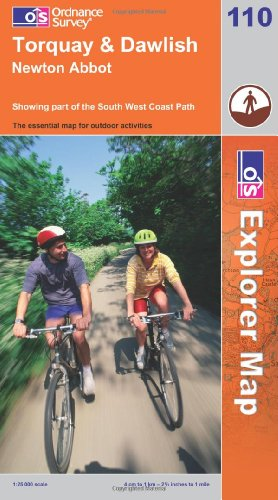 OS Explorer map 110 : Torquay & Dawlish