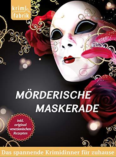 Krimifabrik Mörderische Maskerade - Krimidinner für Zuhause für 8 Personen