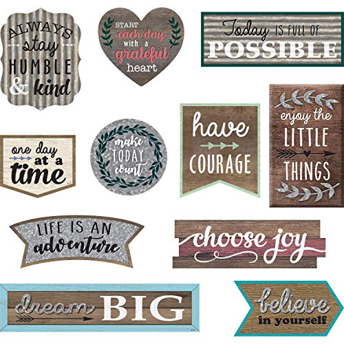 Teacher Created Resources Home Sweet Classroom Positive Sayings Clingy Thingies Accents (TCR77875) Photo #4