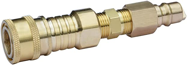 Stanbroil Propane/Natural Gas 100% Solid Brass Quick Connector Kit 3/8