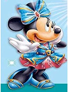 Diamond Painting for Adult 5D Disney Diamond Painting Full Drill Paint with Diamonds fit DIY,Diamond Art Kits for Adults(11.7x15.8Inch)-J024