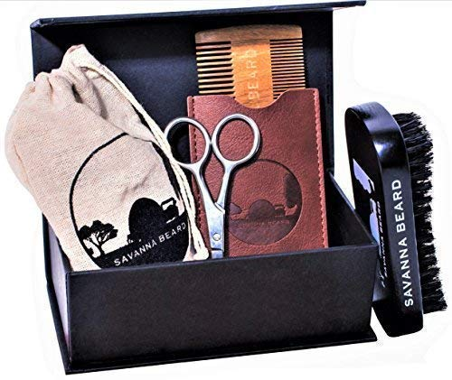 SAVANNA BEARD – Kit de Rasage de Barbe - 100%...