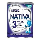 NESTLÉ NATIVA 3 - Leche de crecimiento en polvo -...