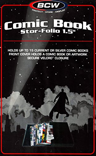 2Comic Book Stor-Folio 1.5pulgadas Cómic De Almacenamiento