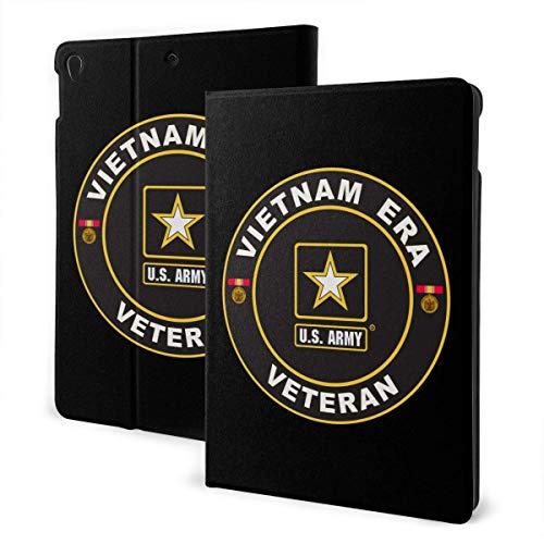 liukaidsfs US Army Vietnam Logo Slim Lightweight Smart Shell Stand Cover Case for iPad Air3 & pro (10.5-Inch,Auto Wake/Sleep)