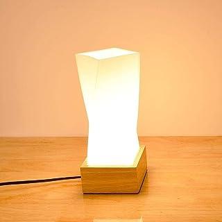 Lampe de Table Lampe de table LED au design moderne, nordique, industriel, minimaliste, abstrait avec abat-jour design irr...