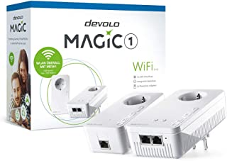 Devolo Magic 1 WiFi 1200 Mbit/s Collegamento ethernet LAN Wi-Fi Bianco 2 pezzo(i)