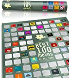 100 Movie Scratch Off Poster Top Films of All Time Bucket List by Travel...