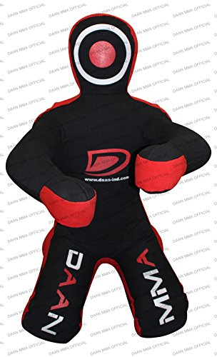 DAAN MMA Grappling Dummy - Sacco da boxe Judo - Unfilled - Seitting Position Front - Brazilian JIU Jitsu Submission Grappling Dummy Seduto Dummy Wrest