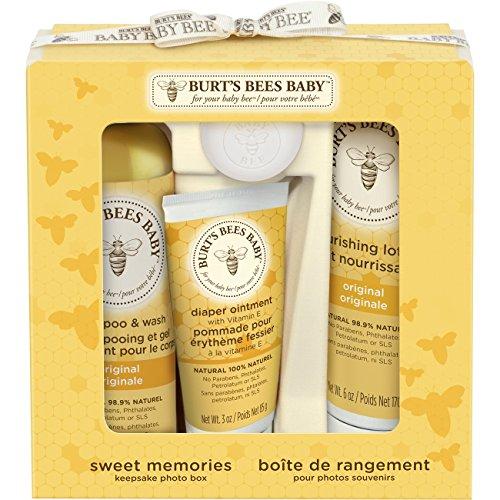 Burt's Bees Baby Bee Sweet Memories Gift Set with Keepsake...