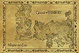 Game of Thrones Drucken, Mehrfarbig, 61 x 91.5cm