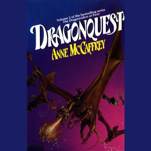 Dragonquest     Dragonriders of Pern, Volume 2              By:                                                                                                                                 Anne McCaffrey                               Narrated by:                                                                                                                                 Adrienne Barbeau                      Length: 2 hrs and 53 mins     142 ratings     Overall 3.8