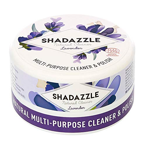 Shadazzle Natural All Purpose Cleaner and Polish – Eco Friendly Multi-Purpose Cleaning Product – Cleans & Polishes Any Washable Surface (Lavender)
