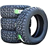 Set of 4 (FOUR) Lanvigator Catchfors M/T II Mud Radial Tires-33X12.50R20LT 114Q LRE 10-Ply