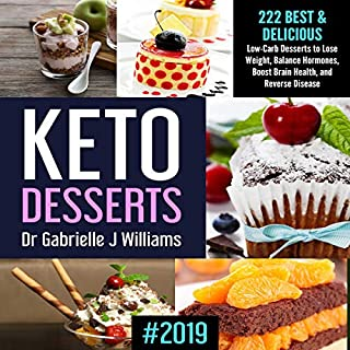 Keto Desserts: #2019 audiobook cover art