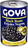 Goya Canned Black Beans, 15.5 Oz