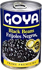 Rich and elegant... For classic black Bean Soup, refried beans, rice & beans and more. 90 calories per 1/2 cup serving Add favorite ingredients for a healthy and filling side dish.