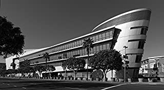 Vintography 18 x 24 B&W Photo Ship's Prow-Like Extension The Staples Center Sports Arena, Home The Los Angeles Lakers Clippers Professional Basketball Teams The Los Angeles Kin 2013 Highsmith 20a