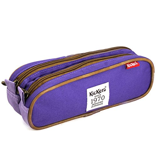 Kickers Trousse double violet