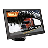SIXGO GPS Navigation for Car 9 Inch HD Touch Screen Truck GPS Navigation System for Trucks with POI Speed Camera Warning Voice Guidance Lane and Free Lifetime Map Updates 1
