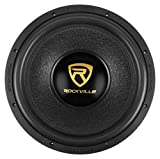 Rockville W15K9D4 15' 5000w Car Audio Subwoofer Dual 4-Ohm Sub CEA Compliant