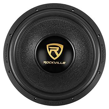 Rockville W15K9D4 15  5000w Peak Car Audio Subwoofer Dual 4-Ohm Sub 1250w RMS CEA Rated