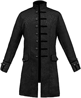 Nobility Baby Mens Goth Steampunk Victorian Frock Coat