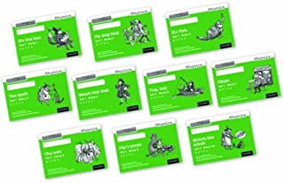 Read Write Inc. Phonics: Black and White Green Set 1 Storybooks Mixed Pack of 10