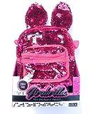 Girabrilla Mini backpack Rabbit Zaino con orecchie colore fucsia di Nice