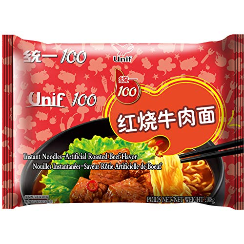 Tongyi Noodles Instantáneo de Rosbif 24 x 108 gr 0.108 ml - Pack de 24