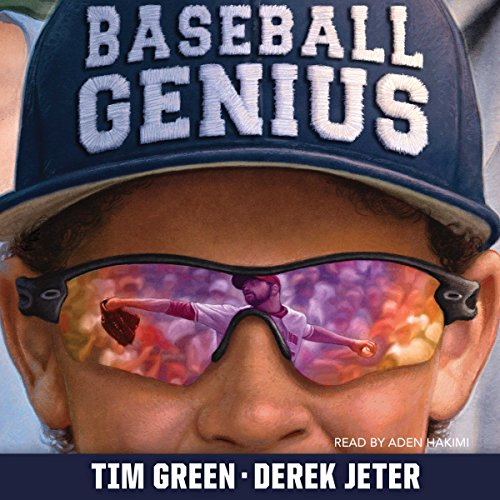 Baseball Genius audiobook cover art