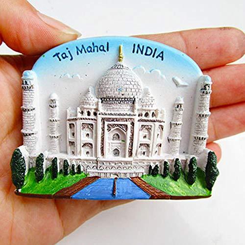 babyzhang 3PCS Resin 3D Fridge Magnet San Francisco London Paris Japan Greece Sydney Bali Souvenir Landscape Fridge Magnet Home Decor,London