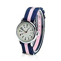 Orkina (オルキナ) 石英 ナイロン素材ストラップ 女性用 ステンレス鋼の腕時計 ORK-0094 (並行輸入品)