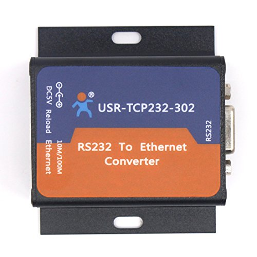 USR-TCP232-302 Tiny Size Serial RS232 to Ethernet TCP IP Server Module Ethernet Converter Support DHCP/DNS