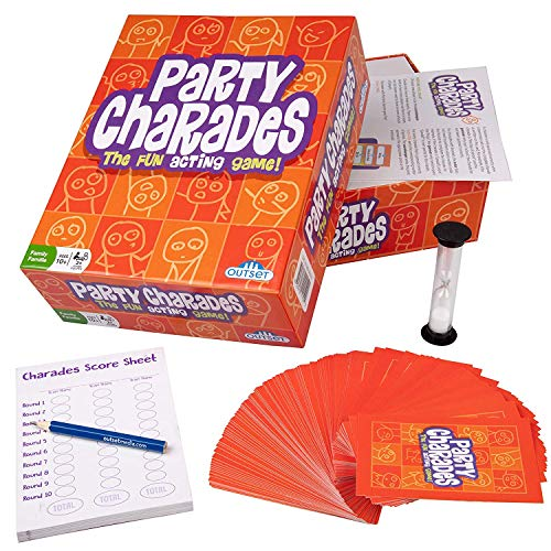 Outset Media Party Charades - 500 Charades Updated for The Year 2019 for Kids Adults and Family...