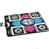 rutschfest PC USB Dancing Matte Sport Fitness Spiel Tanz Matten Pads Tanz Decke Qualität Gepolstert Matte für EIN Arcade Gefühl - Wie Bild Show, Free Size