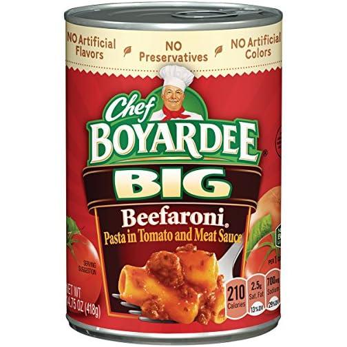 Chef Boyardee Overstuffed Beef Ravioli, 15 oz, 12 Pack 6
