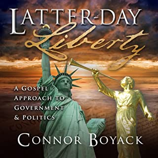 Latter-day Liberty audiobook cover art