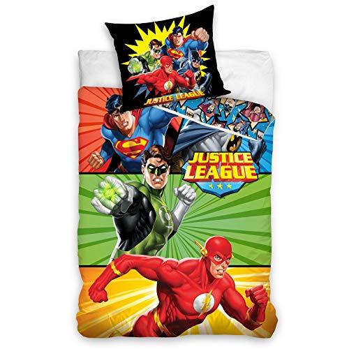 Edredón cobertor Individual «Super» de Superheroes para niña