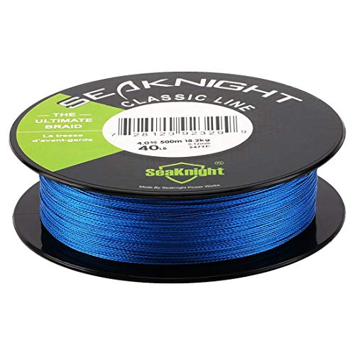 SeaKnight Classic 4 Strands Braided Fishing Line 300M/500M Braided Line Thinner,Stronger and Smoother Fishing Line 6-80 Lbs