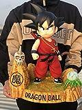 Dragon Ball Figuras De Acción 1/3 Pequeño Goku Figuras De Anime Modelo Muñeca para Fotografía, Afición Y Colección PU + Polystone - 17,7 Pulgadas