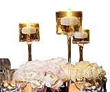 12 Piezas Sin llama Parpadeo Luces de té / Velas Flotantes para Centros de...