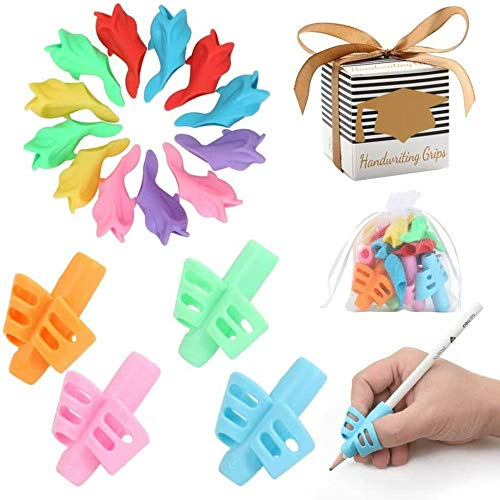 Training Pencil Grips for Kids Handwriting for Preschool Supplies - 16 Pcs • Fortune's Legacy
