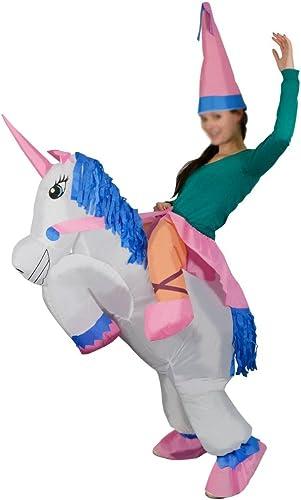 Aufblasbares Erwachsenenkostüm Einhorn Lustige Halloween Party SchlauchStiefel Kostüm Rosa Inflatable Costume