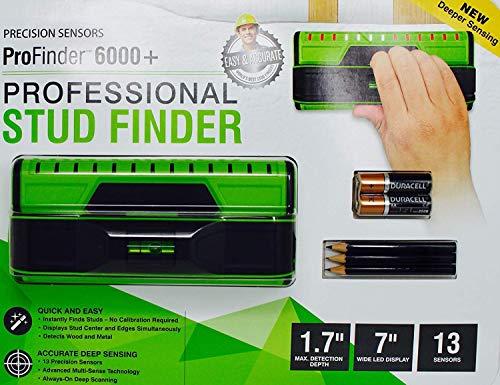 Precision Sensor ProFinder 6000+ Professional Stud Finder